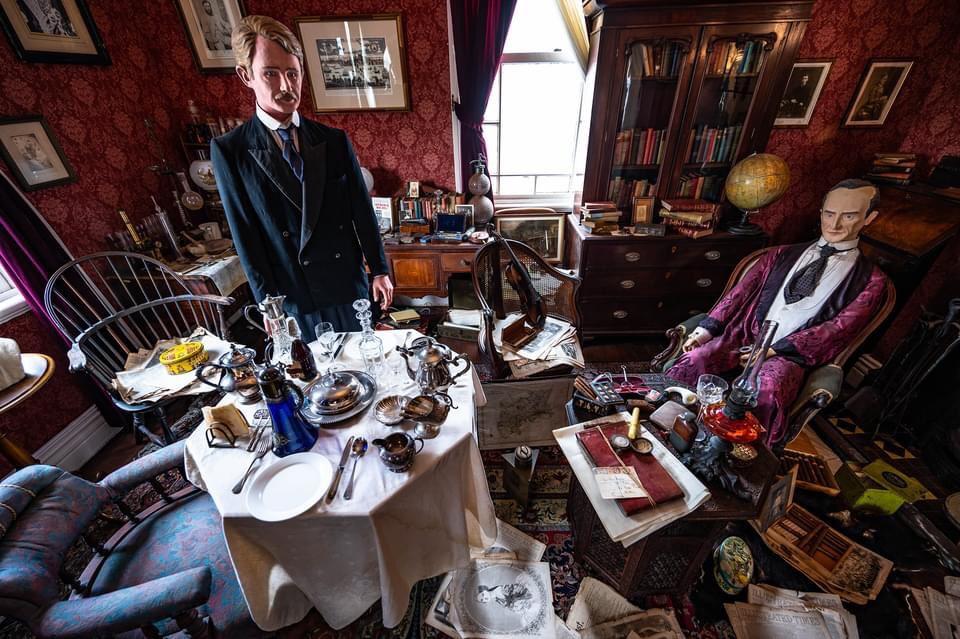 英国館ホームズの部屋